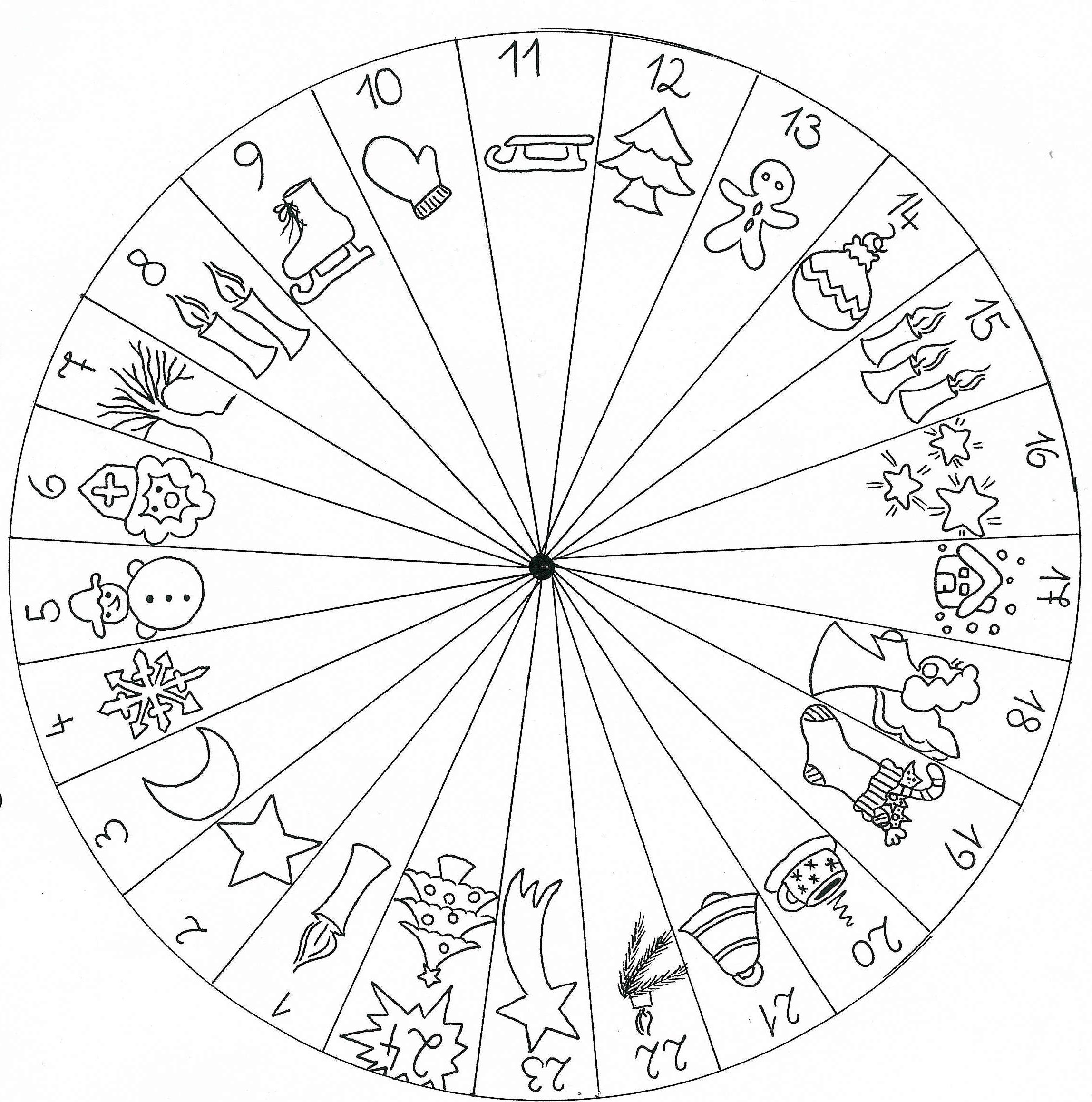 Kindergarten-Homepage: Kalender mit Bildern
